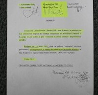 Răcănel, printre semnatarii acordului cu USL în care se cerea desființarea CCR, DNA și ANI