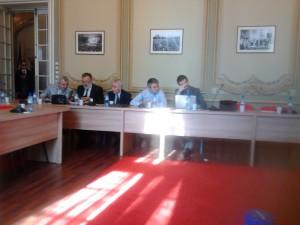 Petre Racane, la intilnirea de la sediul PSD de vineri, 6 noiembrie 2015